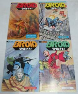 BROID (1990 ET) 1-4  Tim Eldred mini complete
