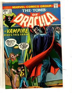 Tomb Of Dracula # 18 FN Marvel Comic Book Horror Fear Vampire Monster TW64