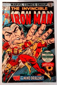 Iron Man #81 Marvel 1975 FN- Bronze Age Comic Book 1st Print
