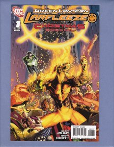 Green Lantern Larfleeze Christmas Special #1 FN Front/Back Cover Scans DC 2011