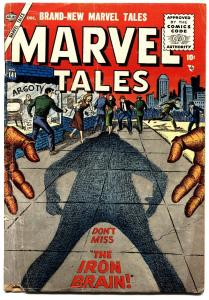 MARVEL TALES-#141 atlas horror-1955-Dick Ayers