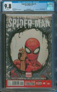 Surperior Spider-Man #5 CGC Graded 9.8 Death of  Massacre