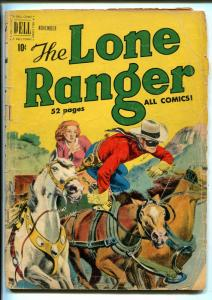 THE LONE RANGER #29 1950-DELL-WESTERN THRILLS-fr/good