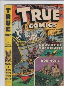 True Comics 59 VG-/VG  Bob Hope Cover Story (April 1947)