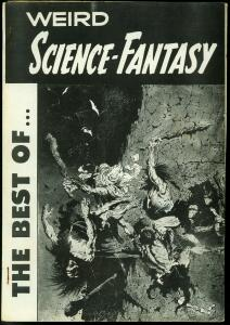 The Best of Weird Science-Fantasy Fanzine- EC reprints- Frazetta- Williamson FN-