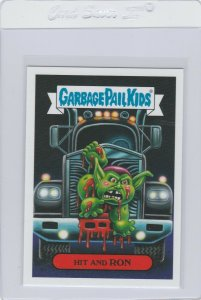 Garbage Pail Kids Hit And Ron 9b GPK 2019 Revenge of Oh The Horror-ible