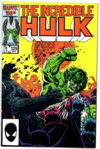 HULK #329, VF/NM, Incredible, Bruce Banner, 1968 1987, more Marvel in store