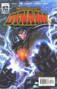 Crimson Dynamo #3, NM (Stock photo)