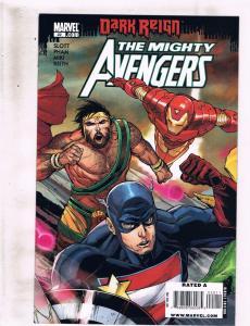 Lot of 3 The Mighty Avengers Marvel Comic Books #22 23 24 KS4