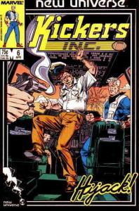 Kickers, Inc. #6 FN; Marvel | save on shipping - details inside