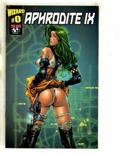 Aphrodite IX Wizard # 0 NM Top Cow Image Comic Book Finch Liquid Cover SM8