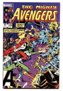 AVENGERS #246 Eternals issue - comic book Marvel NM-