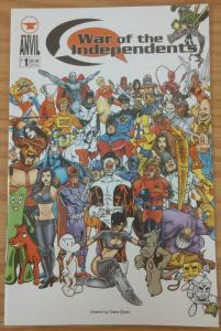 War of the Independents #1 VF/NM; Red Anvil   save on shipping - details inside