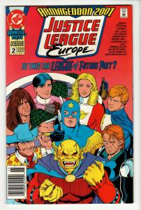 Justice League Europe Annual #2 (DC, 1991) VF