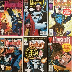 PUNISHER WAR JOURNAL (MARVEL)VOL.1 6 BOOK LOT #28,30,43,45,59,60 UNREAD NM