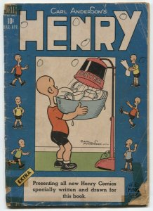 Henry Comics #6 1949- Dell Golden Age- low grade reading copy