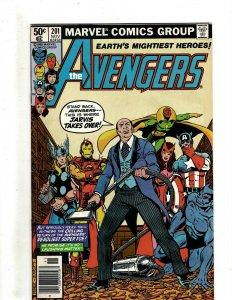 12 The Avengers Marvel Comics 201 203 204 206 208 217 221 222 230 232 233 + HG3