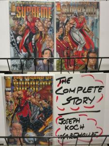 LEGEND OF SUPREME (1994 IM) 1-3 (2.50 CVR)THE SET!