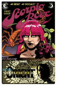 Scorpio Rose #1 1983 1st issue Eclipse comic book NM-