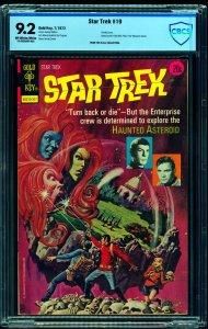 Star Trek #19 CBCS NM- 9.2 Off White to White