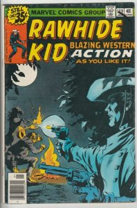 Rawhide Kid # 149 Strict FN Mid-Grade Artist Larry Lieber Reprtins Rawhide # 97