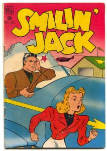Smilin' Jack #4 1948- Dell Golden Age comic VG