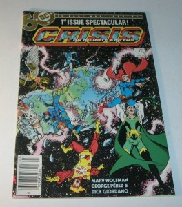 Crisis on infinite Earths #1 DC Bronze Age Comic Book Super-Heroes George Perez