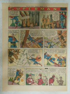 Superman Sunday Page #903 by Wayne Boring from 2/17/1957 Size ~11 x 15 inches