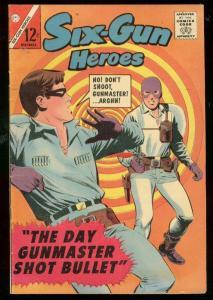 SIX-GUN HEROES #81 1964-CHARLTON-GUNMASTER-SAM COLT FN/VF
