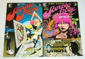 Scorpio Rose #1-2 FN/VF complete series STEVE ENGLEHART bad girl eclipse comics
