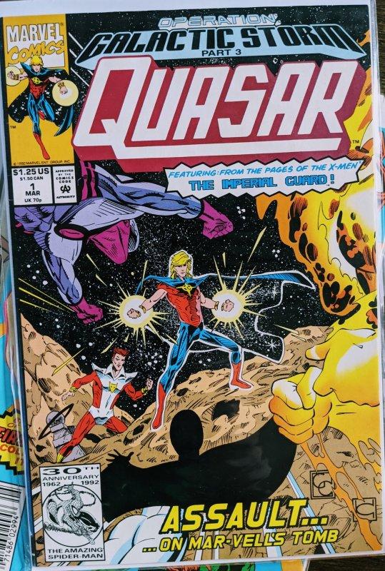 Quasar #32 (1992) RARE!