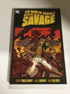 Doc Savage The Man Of Bronze Nm Near Mint DC Comics SC TPB
