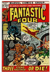 Fantastic Four #119, 4.0 or Better *KEY* Black Panther to Black Leopard
