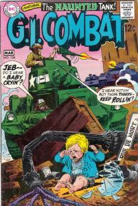 G.I. Combat #134 (Mar-69) FN Mid-Grade The Haunted Tank