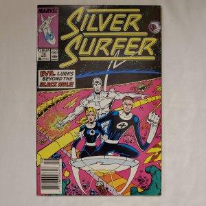 Silver Surfer 15 Near Mint- Art by Joe Rubinstein