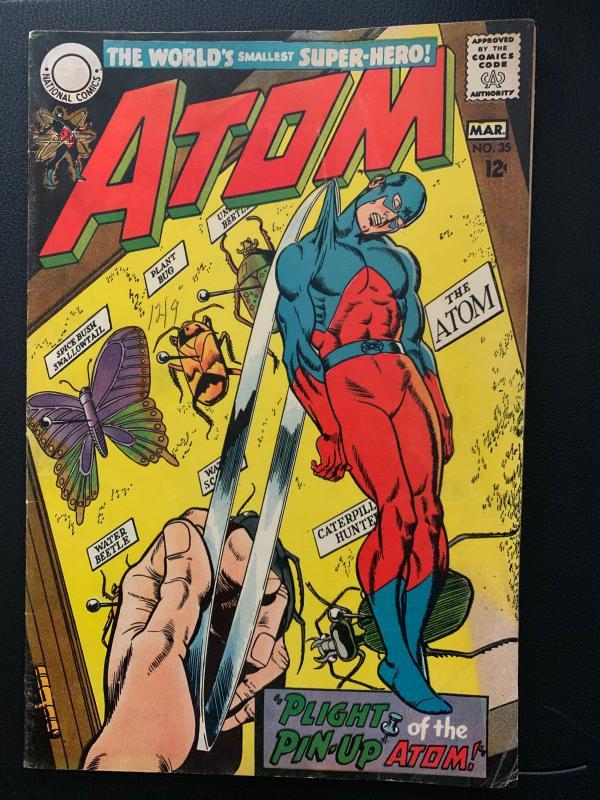 the Atom (1962) 35 Fine (6.0)