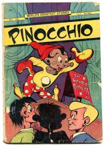 WORLD'S GREATEST STORIES #2-1949-JUBILEE-PINOCCHIO-WONDER PUPPET-fr/good