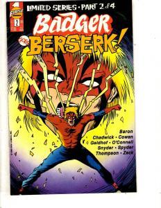 Lot Of 12 Badger First Comic Books # 2 37 41 43 44 45 47 48 50 53 54 59 J313
