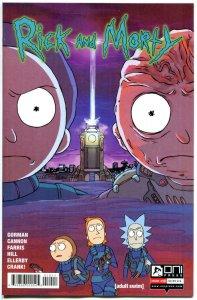 RICK and MORTY #10, 1st, VF+, Grandpa, Oni Press, from Cartoon 2015