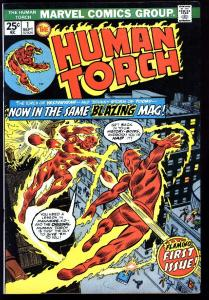 HUMAN TORCH #1-1974-HIGH GRADE-CLASSIC MARVEL ISSUE