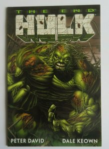 Incredible Hulk The End #1 NM High Grade 1st Print Marvel Peter David Dale Keown