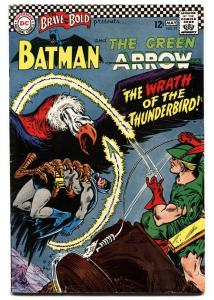 BRAVE AND THE BOLD  #71 1970-DC-BATMAN-GREEN ARROW-vg