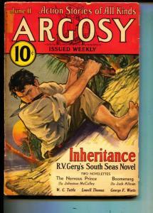 Argosy-Pulp-6/11/1932-Lowell Thomas-Lowell Thomas
