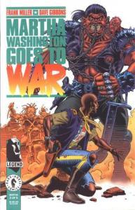 Martha Washington Goes to War #3, NM (Stock photo)