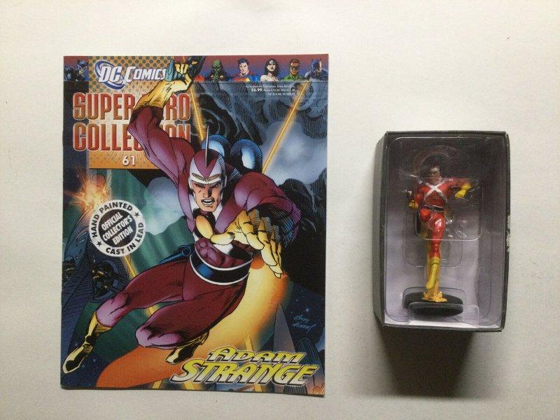 Adam Strange Super Hero Collection Lead Figure and Magazine Dc Eaglemoss