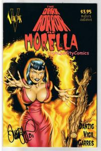 DARK HORROR OF MORELLA #1, NM, Signed Tim Vigil, Glenn Danzig, Verotik