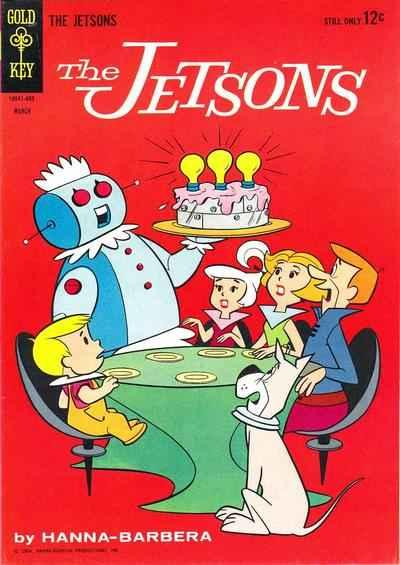 Jetsons (1963 series) #8, VG (Stock photo)