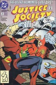 DC JUSTICE SOCIETY OF AMERICA (1992 Series) #5 NM-