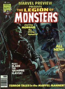 Marvel Preview #8 The Legion of Monsters (ungraded) stock photo ID# B-10