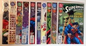 Action Comics 721 722 723 724 725 726 727 728 729 730 Near Mint Lot Set Run
